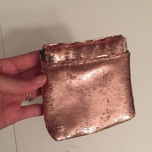 Rose Gold Sequin Pouch from Anthropologie